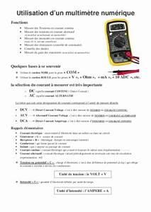 Utilisation D Un Multimètre Digital : multimetre utilisation dt notice manuel d 39 utilisation ~ Gottalentnigeria.com Avis de Voitures