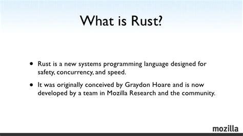 rust hands winter programming language