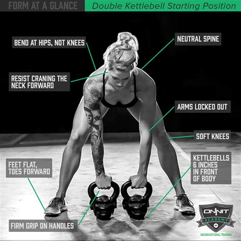 double kettlebell form position onnit starting workout glance benefits kettlebells strength workouts swing academy exercises arm mass way swings proper