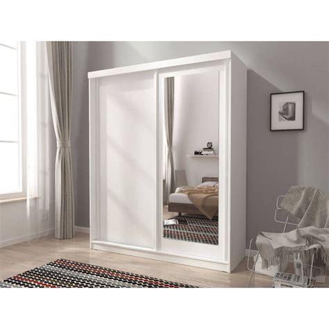 Small Mirrored Wardrobe by Mini 200 Sliding 2 Doors Bedroom Small Mirrored Wardrobe