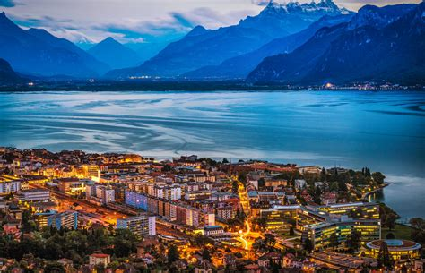 Vevey, Switzerland on Lake Geneva | An amazing viewpoint ...