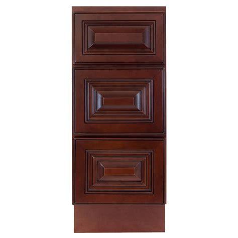 lesscare cherryville  bathroom maple vanity drawer base