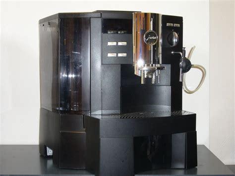 kaffeemaschine jura s9 jura impressa xs90 schwarz general 252 berholt kms