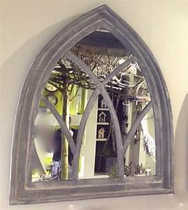 Spiegel Sichtschutzfolie Fenster : spiegel als fenster wandspiegel mit holzrahmen spiegel ~ Articles-book.com Haus und Dekorationen