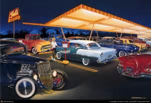 Hot Rod Muscle Car Art