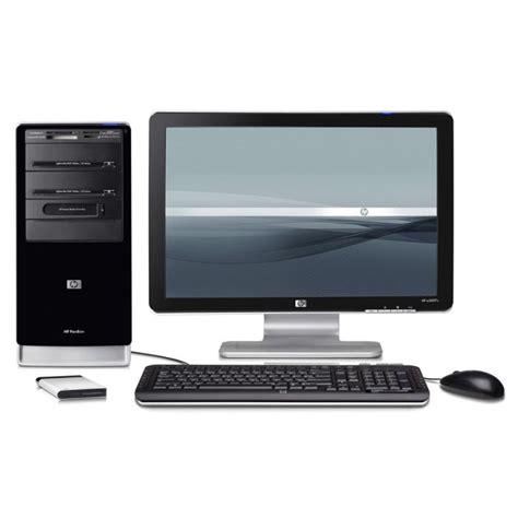 hp ordinateur de bureau ordinateur hp pavilion a6207 fr m avec écran 19 quot prix