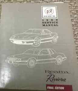 best car repair manuals 1989 buick riviera parking system 1989 buick reatta riviera service shop repair manual brand new factory huge x ebay