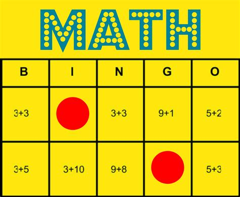 Math Bingo Free Printable Game To Help All Students Learn Math Facts  Inclusion Lab