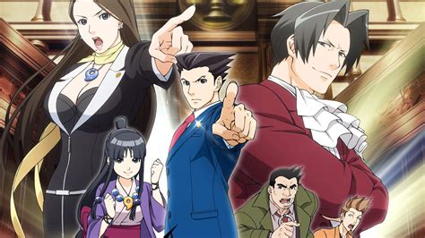 funimation  dub  ace attorney anime nintendo wire