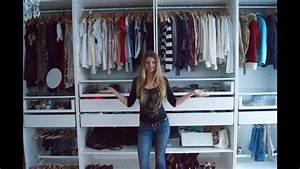 Faltbarer Kleiderschrank Ikea : mein kleiderschrank aufteilung sortierung und infos youtube ~ Orissabook.com Haus und Dekorationen
