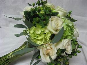 Green Wedding Bouquet from The Garden Path Flower Shop in ...