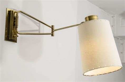swing arm l lune l swing arm sconces for at 1stdibs