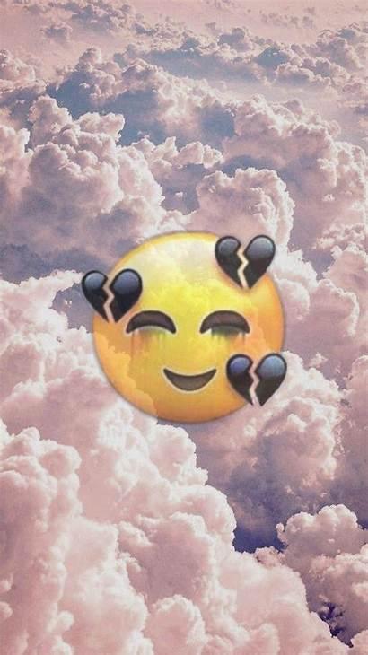 Emoji Iphone Wallpapers Emojis Wallpapersafari Seitz Amelia