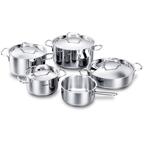 korkmaz cookware bianca 9pc