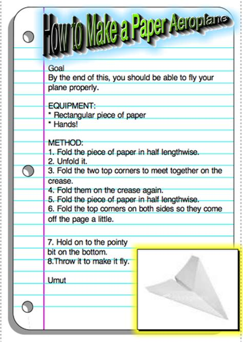 procedural writing writing sles procedural writing and you