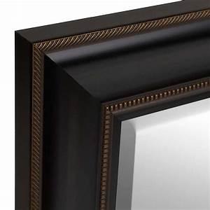 Black Framed Mirror, 28x34 Kirklands