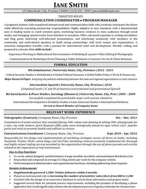 International Student Resume Sample - BEST RESUME EXAMPLES