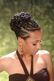 Braid Updo Hairstyles African American Women