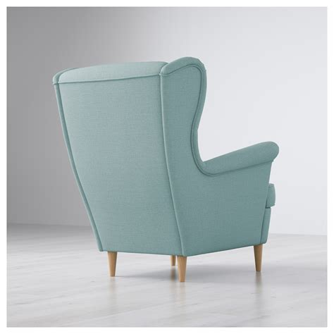 strandmon wing chair skiftebo yellow strandmon wing chair skiftebo light turquoise ikea