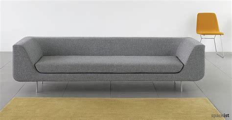 office settee furniture reception sofas bernard office sofa