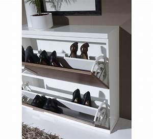 meuble a chaussure moderne 3404 With good meuble chaussure avec banc 9 meuble chaussure couleur chene