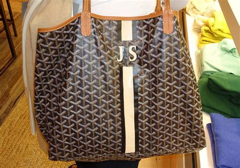 goyard monogram goyard  start thinking      monogrammed goyard bag