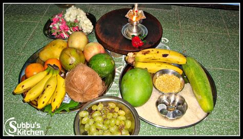 This is an auspicious occasion for tamilians (people of tamil origin) living all over the world. Tamil New Year(Tamizh Puthandu) / Vishu Recipes | Subbus ...