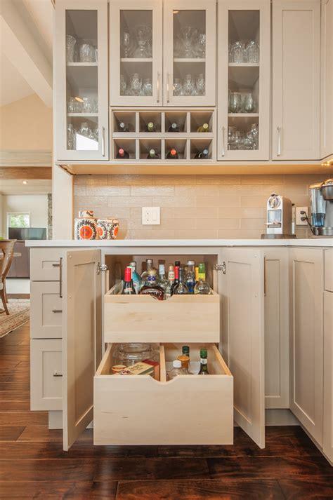 wine rack corner splashy corner liquor cabinet in home bar traditional with