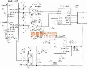 the application circuit of dual axis magnetic field sensor With axis magnetic sensor circuit hmc6042 sensor circuit sensorzine