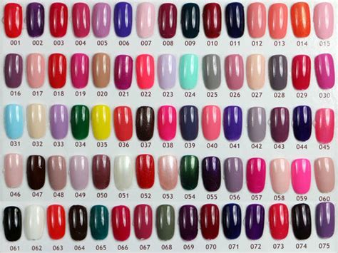 what color should be what color should you be painting your nails according to