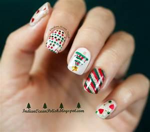 Indian Ocean Polish: Christmas 2013 Nail Art Ideas: Simple ...