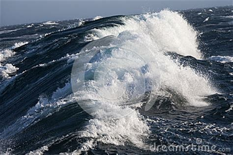 rough sea arctic ocean stock photography image