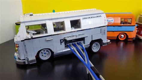 vw bulli lego lego 10220 vw t1 bulli air suspension pneunatic