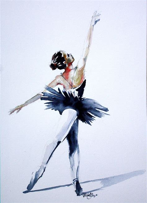 Watercolor Paint Ideas Of Ballet Dancers Drawing 1000