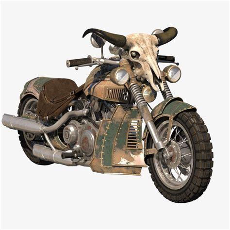 fantasy bike model turbosquid
