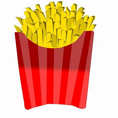 Fries French Svg Clip Clipart Cartoon Icon