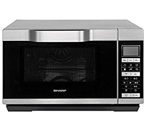New Sharp R861 Flatbed Combination Microwave Silver