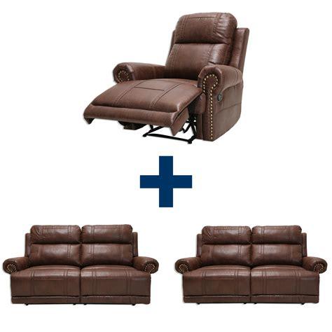 sessel mit funktion set 2 sofas mit sessel braun mit funktion