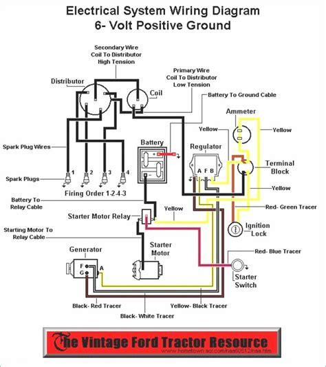 6 Volt Wiring Diagram 8n Tractor  N Volt Wiring Diagram on 8n ford points distributor wiring, 8n 6 volt regulator, 8n 12 volt conversion diagram, 8n 12 volt conversion wiring,