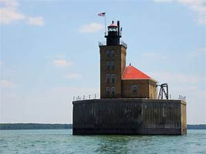 Port Austin Reef Light Michigan Lighthouses Of The U S Michigan 39 S Southeastern Lower