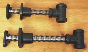 Workbench Hardware: Screw Spindles, Front Vises, Back