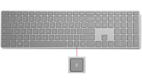 Set Up Microsoft Modern Keyboard With Fingerprint Id