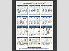 Karnataka India Public Holidays 2015 – Holidays Tracker