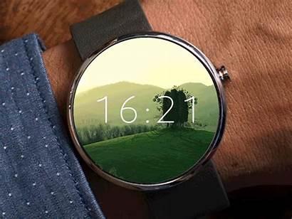Moto Ui Android Graphic Smartwatch Moto360 Wear