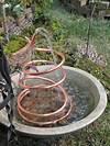 7 Soothing DIY Garden Fountains | The Garden Glove diy garden fountain