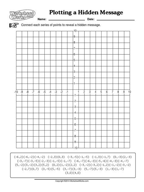 Jack O Lantern Coordinate Picture Graphing Worksheetworks Com Graphiti Math Worksheets Page A By