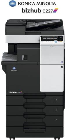22/14 ppm em preto & branco e cor. Impresora Fotocopiadora Konica Minolta color Bizhub C227 - Madrid