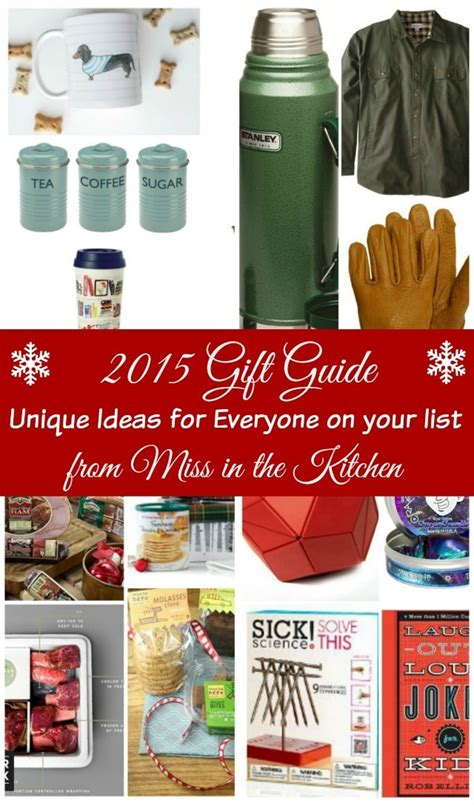 gifts from the kitchen ideas 2015 gift guide unique gift ideas from miss in