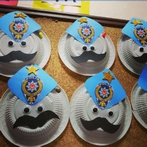 police crafts for preschoolers community helpers craft idea for crafts and 548