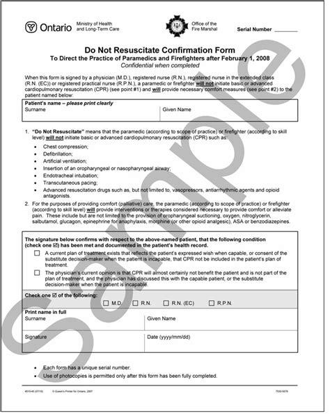 illinois do not resuscitate form 2017 form dnr medical form